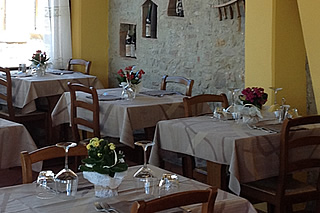 Restaurant in San Gimignano
